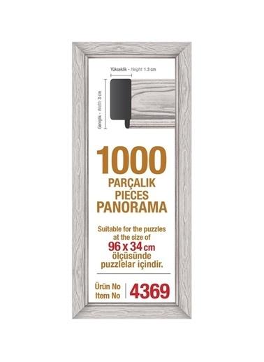 Art Puzzle Art Puzzle 1000'lik Panorama Beyaz Çerçeve Renksiz